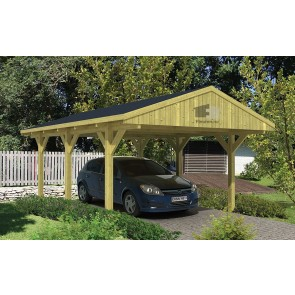 Garages en carports | Blokhut / Tuinhuis / Chalet | Fleuren ...