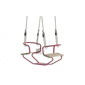 Duo Seat metaal