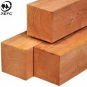 Red Class wood paal