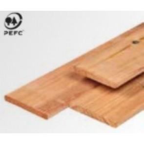 Red Class wood tuinplank