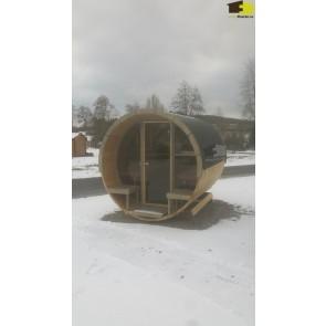 Sauna barrel 280 de luxe