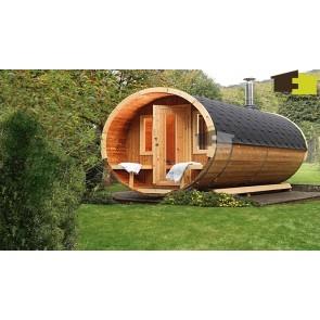 Sauna barrel 330 de luxe