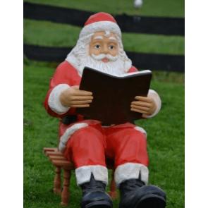 Zittende kerstman